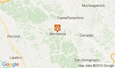 Map Gambassi Terme Villa 107501