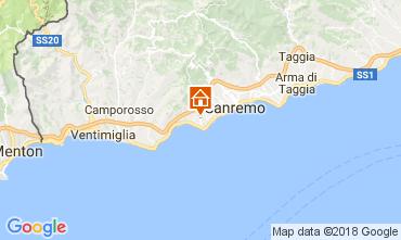 Map Sanremo Villa 110839