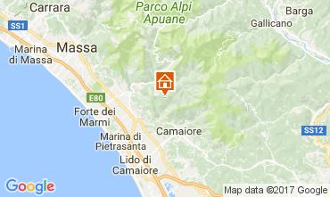 Map Camaiore Apartment 108494