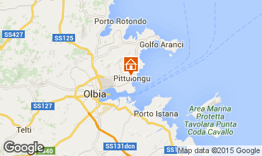 Map Olbia Apartment 100077