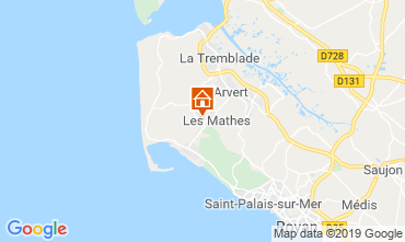 Map Les Mathes Mobile home 118132