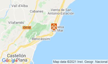 Map Oropesa del Mar Apartment 11420