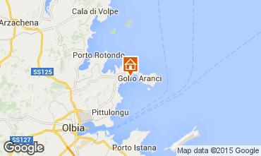 Map Aranci Gulf Apartment 74362