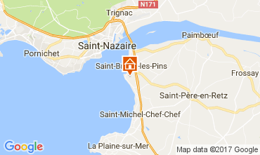 Map Saint Brevin les Pins House 107814
