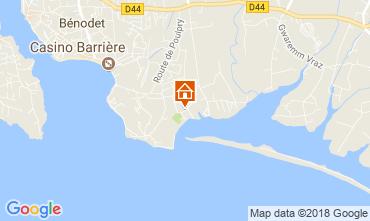 Map Bénodet House 115242
