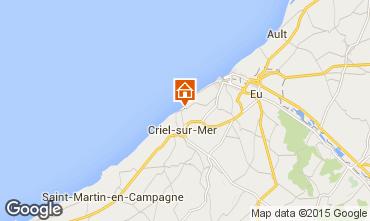 Map Le Tréport House 7738