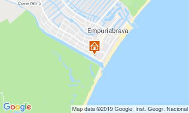 Map Empuriabrava Apartment 93567