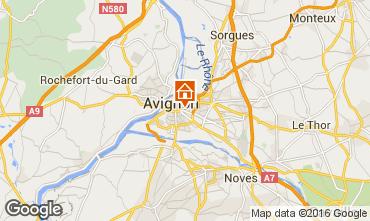 Map Avignon One-room apartment 59338
