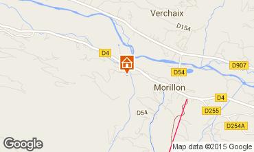 Map Morillon Grand Massif Chalet 83014
