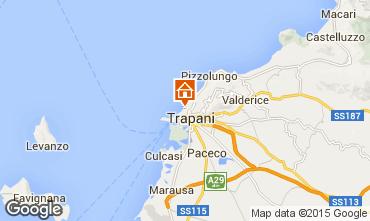 Map Trapani Apartment 68809