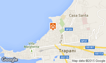 Map Trapani Apartment 68809