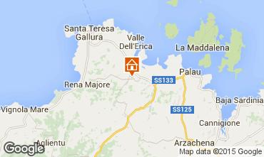 Map Santa Teresa di Gallura Villa 29667