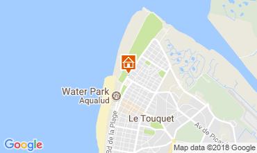 Map Le Touquet One-room apartment 104169