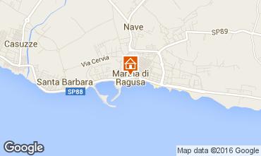 Map Marina di Ragusa Villa 81007