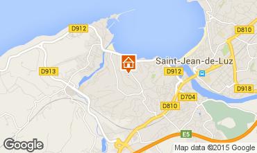 Map Saint Jean de Luz Apartment 9309