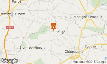 Map Nantes Vacation rental 52600