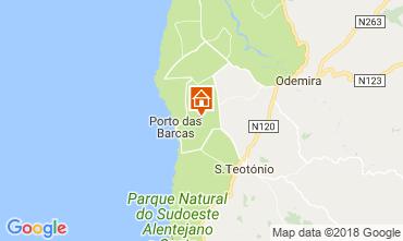 Map Zambujeira do Mar One-room apartment 57198