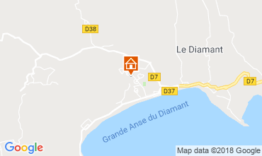 Map Le Diamant One-room apartment 116462