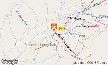 Map Saint François Longchamp Apartment 74101