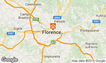 Map Florence Apartment 97471