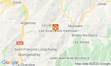 Map Valmorel Apartment 111703