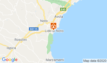 Map Noto Apartment 86942