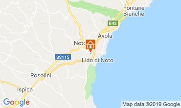 Map Noto Villa 118339