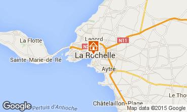 Map La Rochelle Apartment 80784