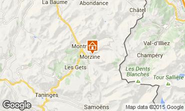 Map Morzine Apartment 101224