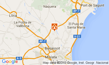 Map Valencia Villa 73432