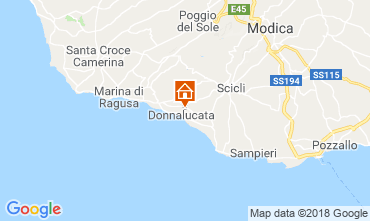 Map Donnalucata Apartment 88164