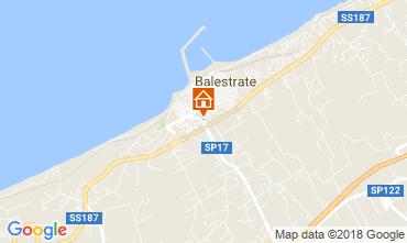 Map Balestrate Villa 115260