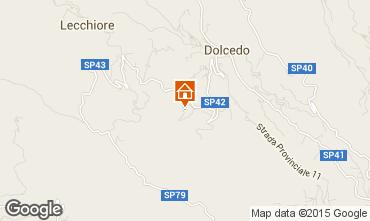 Map Dolcedo Apartment 26384