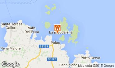 Map La Maddalena Apartment 33485