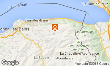 Map Bernex Apartment 65983