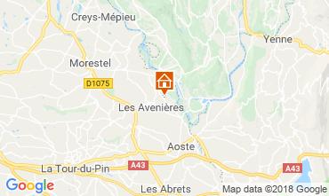 Map Les Avenières Veyrins-Thuellin House 116733