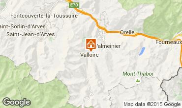 Map Valloire Chalet 27264