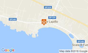 Map Lecce Apartment 110791