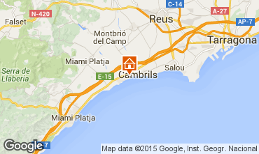 Map Cambrils Apartment 9716