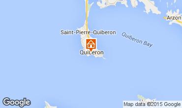 Map Quiberon Apartment 51150