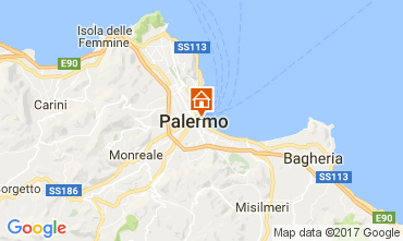 Map Palermo Apartment 85412
