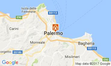 Map Palermo Apartment 85412
