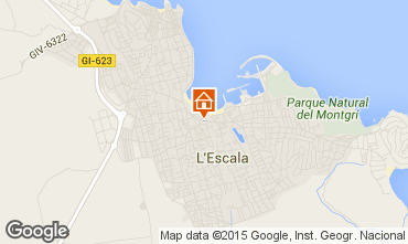 Map L'escala House 55043