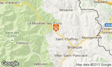 Map Serre Chevalier Apartment 43768