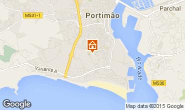 Map Praia da Rocha Apartment 75306