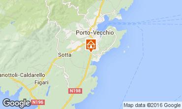 Map Porto Vecchio Villa 79272