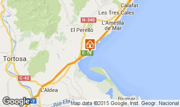 Map L'ampolla Villa 94907
