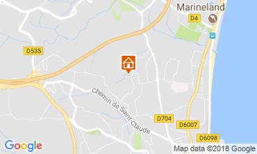 Map Antibes Apartment 113971