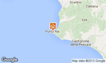 Map Punta Ala Apartment 44066