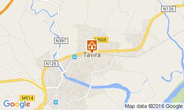 Map Tavira One-room apartment 62819